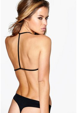 Annabel Strap Back Triangle Bralet