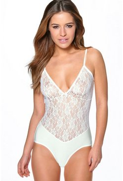 Rosie Lingerie Lace Body