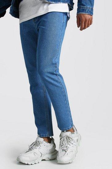 Light blue Slim Rigid Jeans