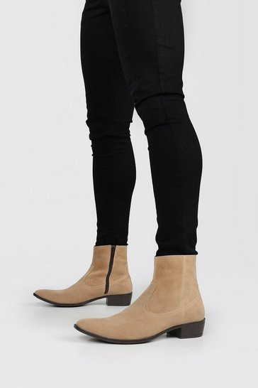 Sand Immi Suede Chelsea