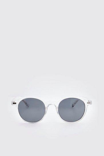 Clear Frame Classic Sunglasses