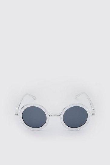 Silver Round Festival Sunglasses