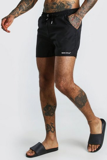 Black MAN Official Swim Short