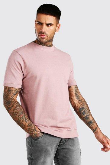 Bark Short Sleeve Pique Sweatshirt