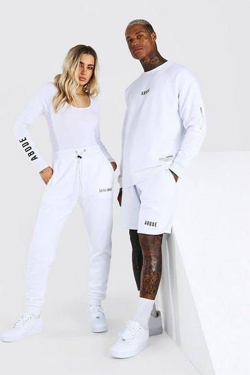 White Abode Ladies Scoop Back Bodysuit