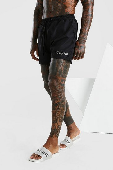 Black Abode Swim Short