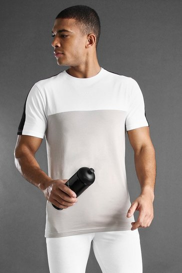 Stone MAN Active Colour Block T-Shirt