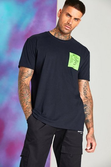 Black Quavo Loose Fit T-Shirt With Season Print