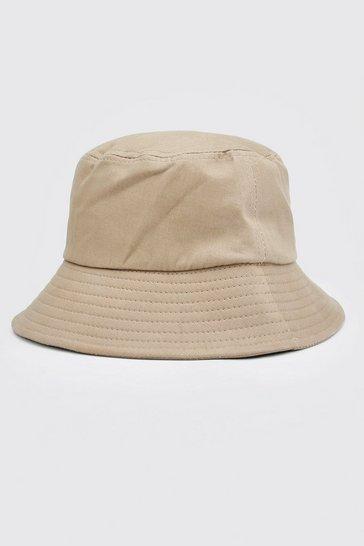 Stone Plain Bucket Hat