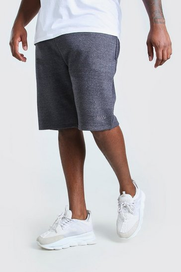 Charcoal Big And Tall MAN Basketball Jersey Short