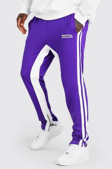 Purple Official MAN Regular Fit Tricot Jogger