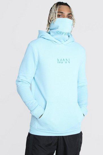 Blue MAN Official Snood Hoodie