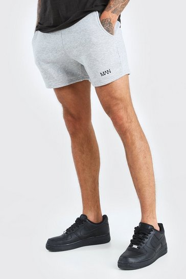 Grey marl Original Man Short length jersey short