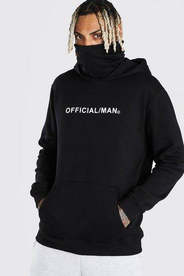 Black Man Official Snood Hoodie