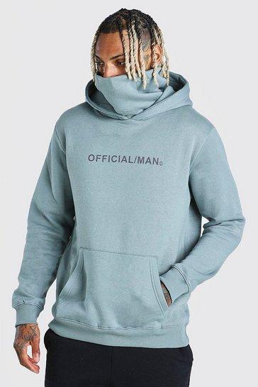 Sage Man Official Snood Hoodie