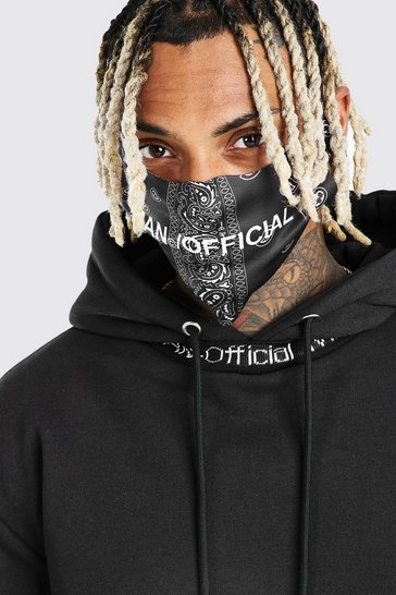 Black MAN Official Bandana Fashion Mask