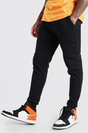 Black Basic Skinny Fit Joggers
