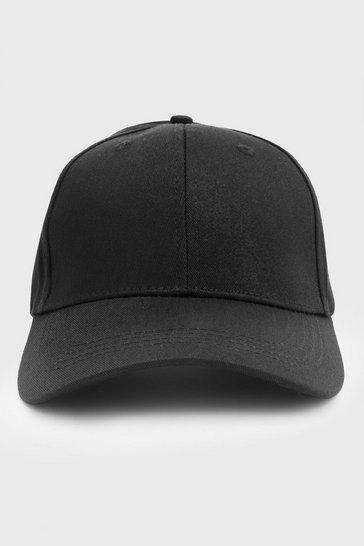 Black Curve Peak Cap