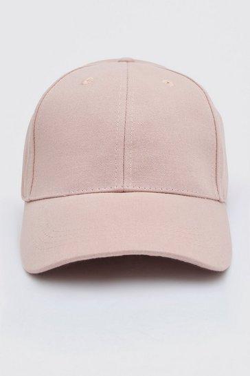 Pink Curve Peak Cap