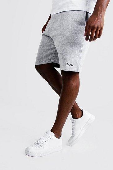 Grey marl Big and Tall MAN Dash Skinny Fit Shorts