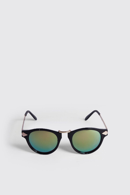 Купить Солнцезащитные очки в стиле ретро с краями в виде стрелы, boohoo