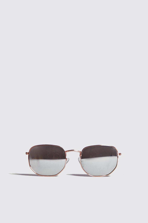Купить Солнцезащитные очки в шестигранной оправе, boohoo