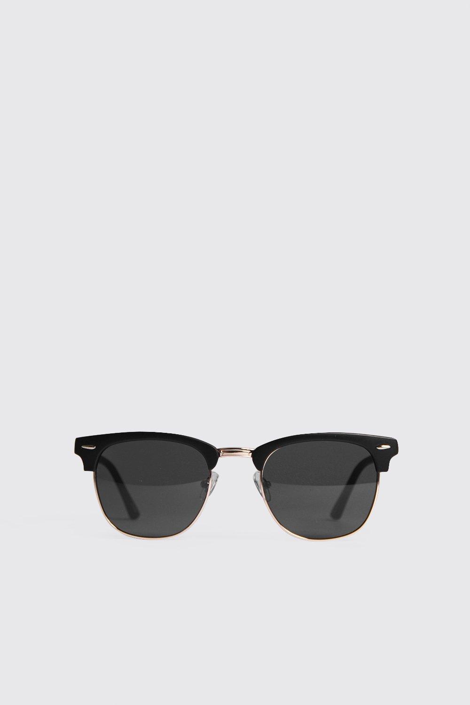 Купить Солнцезащитные очки в стиле ретро с отделкой оправы, boohoo