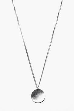 Simple Circle Pendant Necklace
