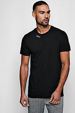 Maglietta con ricamo MAN