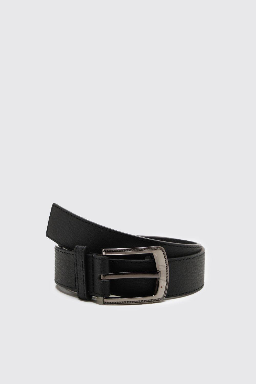 Купить Belts, Проклеенный кожаный ремень с большой пряжкой, boohoo