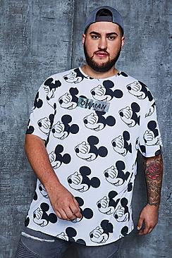 Big And Tall Disney 'Oh Man' Oversized T-Shirt