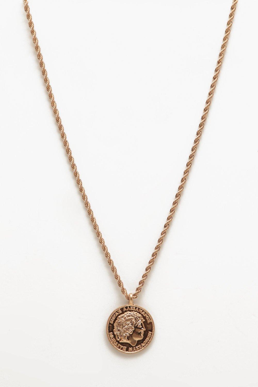 Купить Jewellery, Классические Колье с монетами, boohoo