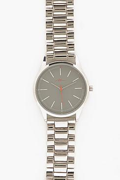 Orologio classico con bracciale in metallo