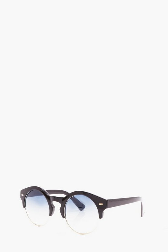 Top Frame Retro Sunglasses