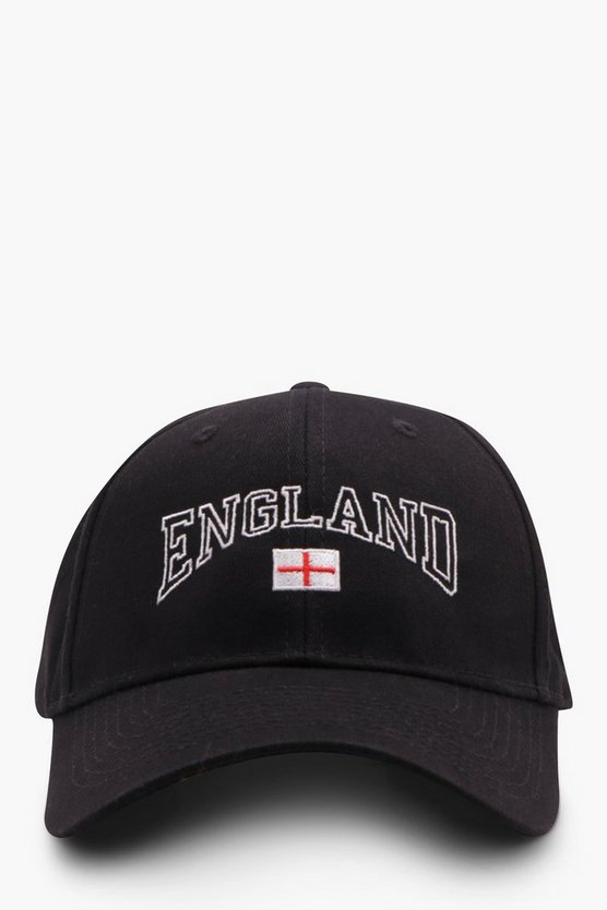 England Flag Embroidered Cap