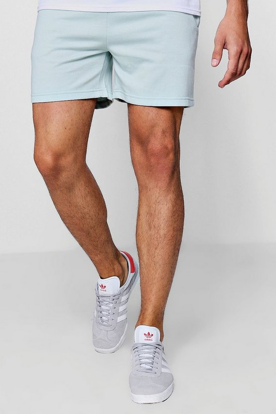 Jersey Basic Short Length Shorts