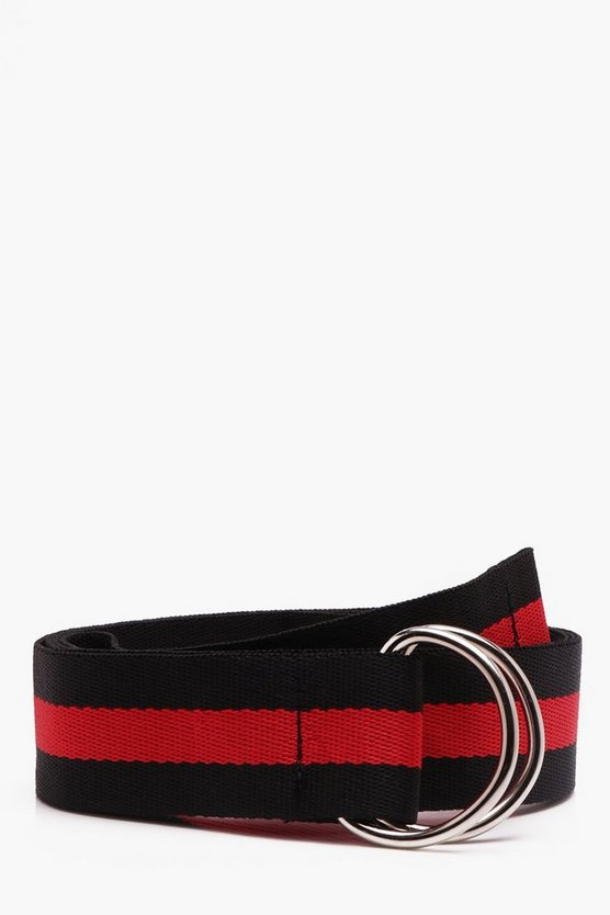 Stripe Tape Belt