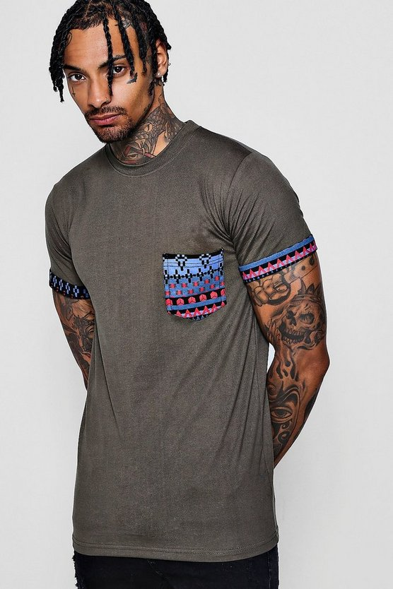 Tribal Pocket T-Shirt
