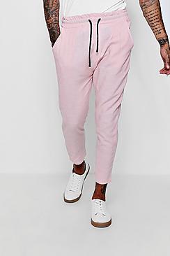 100% Linen Drawstring Jogger Style Trouser