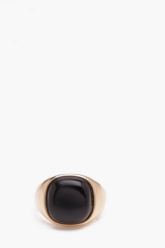 Classic Stone Signet Ring