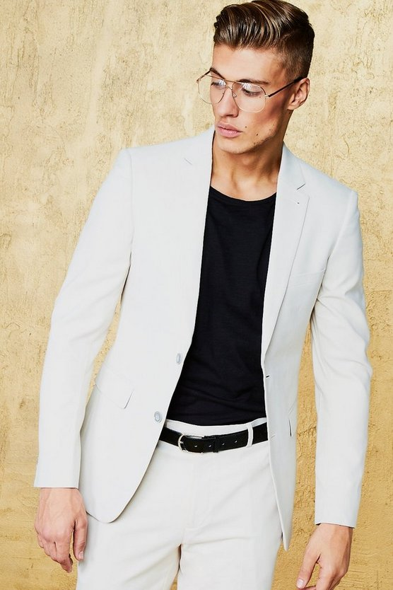 Single Breasted Skinny Fit Blazer