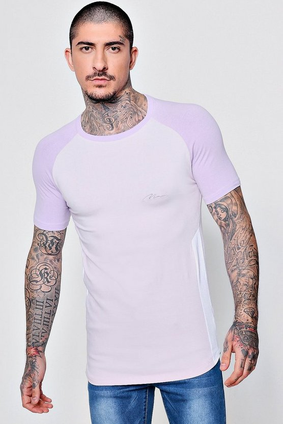 MAN Signature Muscle Fit T-Shirt
