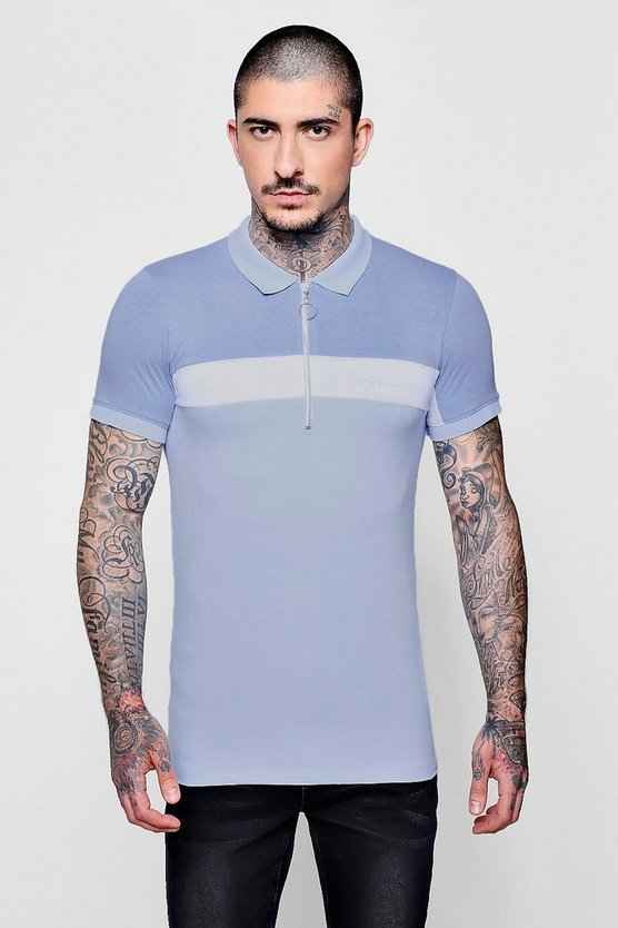 MAN Signature Muscle Fit Polo