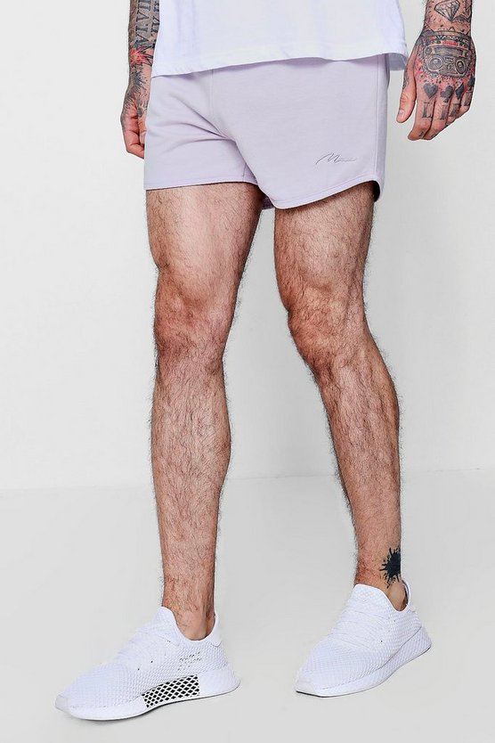 Runner Short With MAN Signature Embroidery