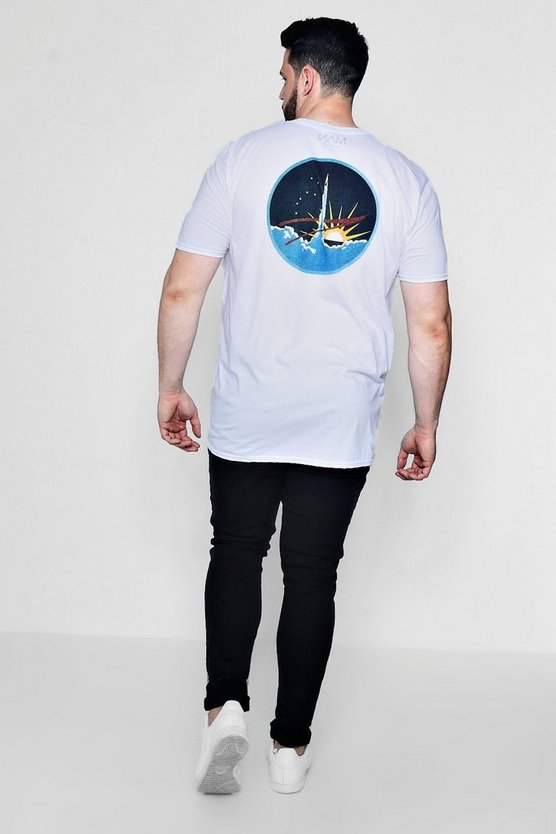 Big And Tall NASA Licence T-Shirt