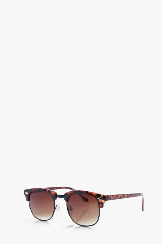 Retro Sunglasses In Tortoise