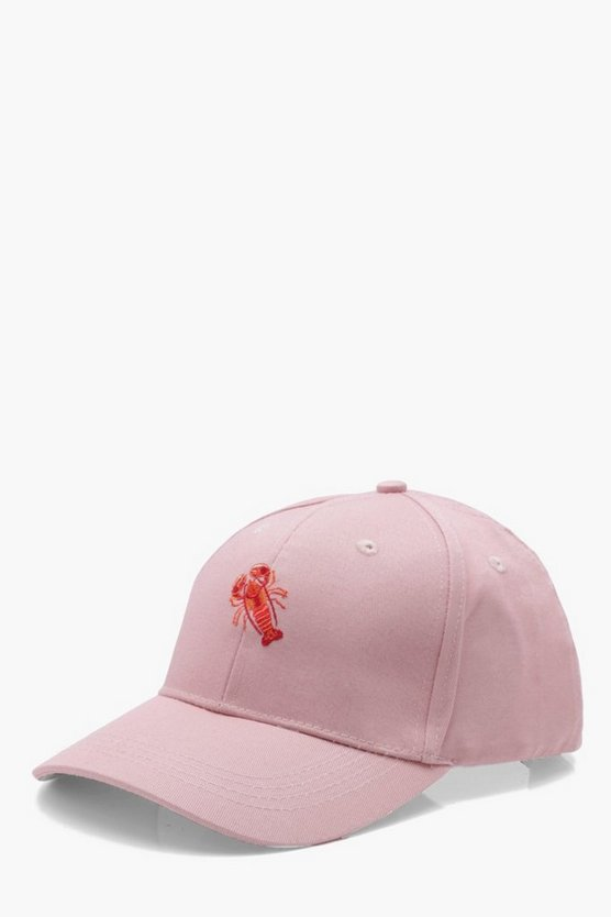 Lobster Embroidered Cap