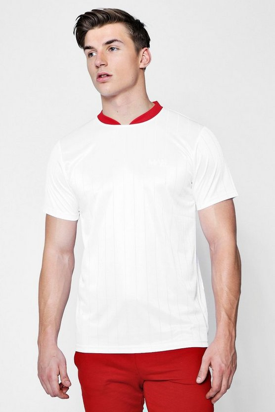 Bomber Neck MAN Football Shirt Co-ord