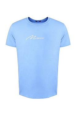 MAN Signature Embroidered T-Shirt