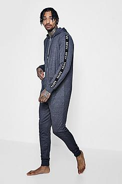 Body onesie in jersey con fascia MAN
